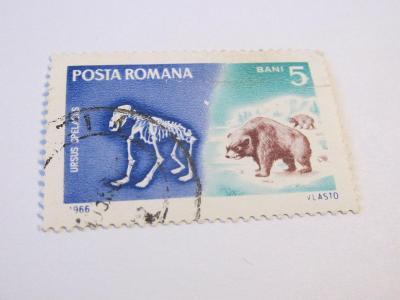 Prodávám známky Rumunsko 1966, Pravěká zvířata