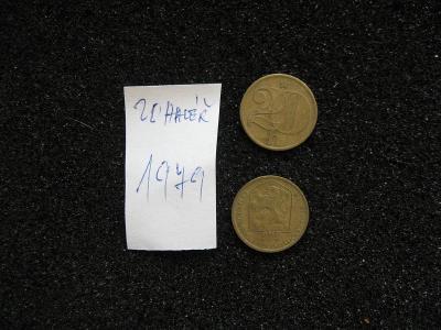20 haléř - 1979 - mince nečištěná z peněžního oběhu, mincovna