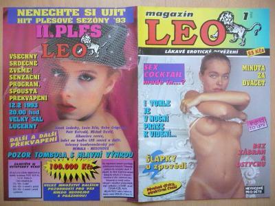 Erotický časopis - LEO - číslo 1 z roku 1993