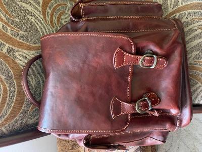 Prodám nový kožený batoh