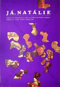 Já, Natálie Dimitrij Kadrnožka 1974 film plakát A3