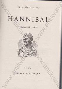 Hannibal František Knotek Historická studie