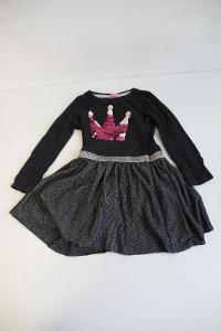 krásné dívčí šaty s měnícími flitry vel 98 VÍCE V POPISU