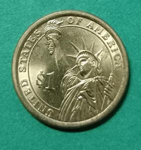 USA prezidentský dolar 2016