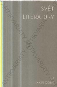 Svět literatury Filosofická fakulta