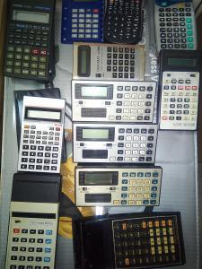 kalkulačky...