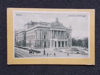Brno  Německé divadlo