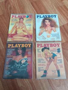 PLAYBOY - celkem 7 vydání  Magazínu PLAYBOY  +  další  časopisy