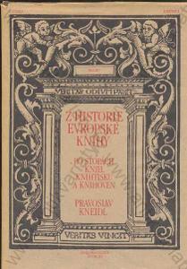 Z historie evropské knihy Pravoslav Kneidl 1989