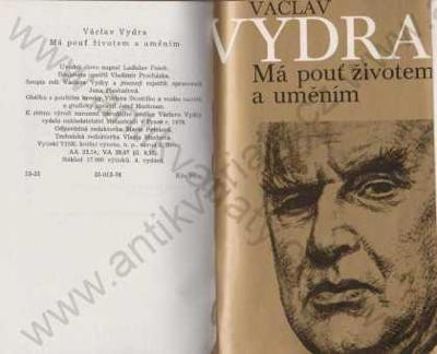 Má pouť životem a uměním Václav Vydra 1976