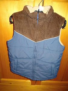 Prošívaná vesta Boyz Unlimited vel. 134
