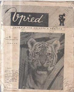 Vpřed Ročník I. 37 čísel 1945 Foglar Rychlé šípy