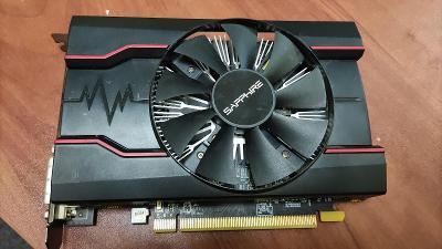 Grafická karta Radeon rx 550 4Gb nefunkční