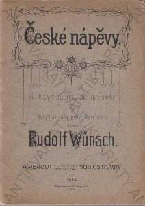 České nápěvy Rudolf Wünsch