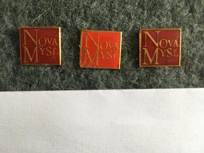 Prodám odznaky - ČASOPISU NOVÁ MYSL.