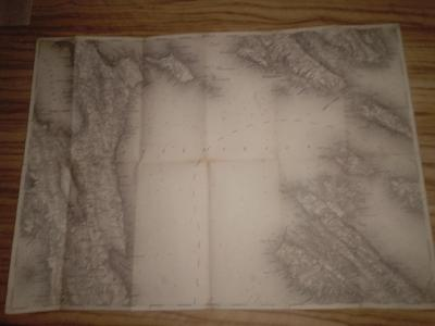 Stará mapa cherso und arbe1908