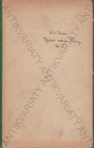 Dějepis města Prahy V.V. Tomek Nowočeská 1881