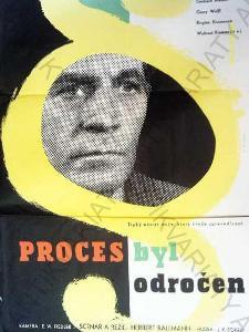 Proces byl odročen Vladimír Kovařík film plakát