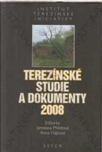 Terezínské studie a dokumenty 2008 Sefer, Praha