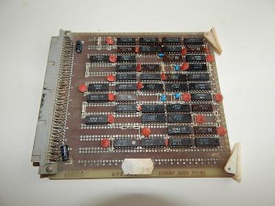 Sběratelská PC karta - P1-81  EC 5067.0009