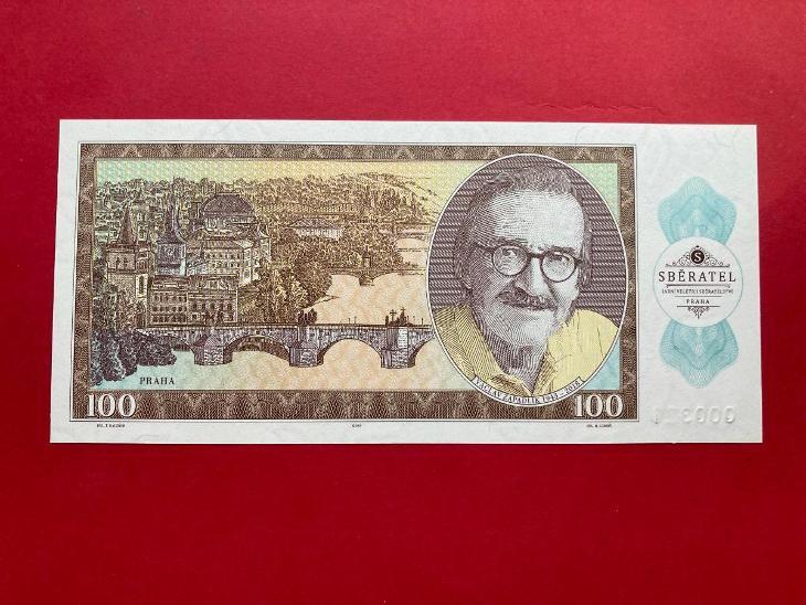 "Bankovka Zapadlík ""ISOTTA FRASCHINI "" série C02 000322 od 1 Kč!  - Bankovky"