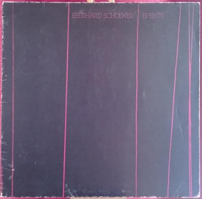 Eberhard Schoener – Events  (LP 1980 Germany)