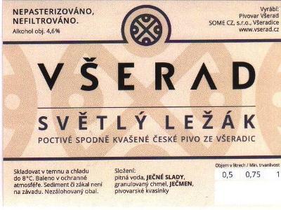 Etiketa Všeradice 001