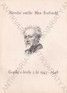 Národní umělec Max Švabinský 1948