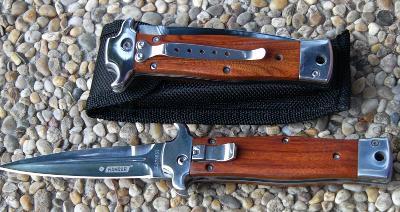 Vystřelovací nůž KANDAR - 21/12 cm