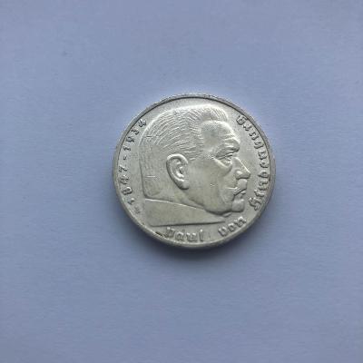 Říšská 5 marka 1936 E