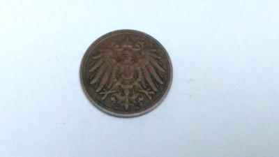 1 pfennig 1911 A