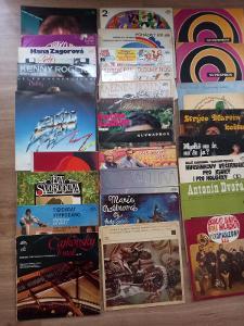 LP gramofonové desky 63 kusů