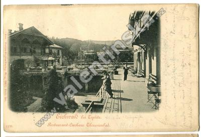 Dubí, Eichwald, , Teplice. restaurace