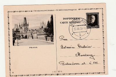 Celina, předběžná 1.20, Praha, 15.12. 1939!!, prošlá