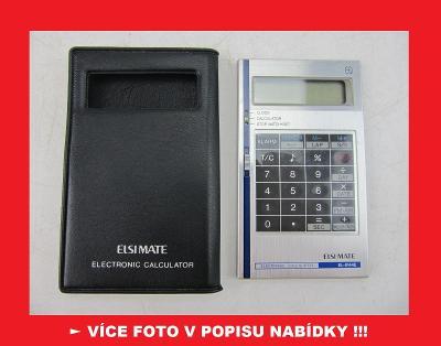 SHARP EL-8144E - sbírková kalkulačka - JAPAN