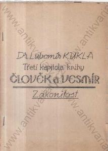 Třetí kapitola knihy Člověk a vesmír
