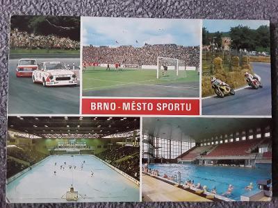 Pohlednice BRNO - Město sportu