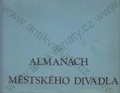 Almanach Městského divadla v Plzni 1927