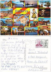 Španělsko - Mallorca - 1996