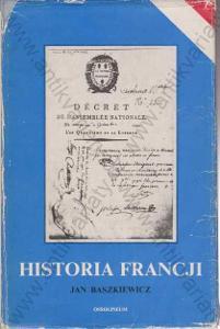 Historie Francji Jan Baszkiewicz