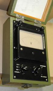 Měřič alkalických akumulátorů Metra QZB