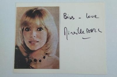 autogram Mireille Darc