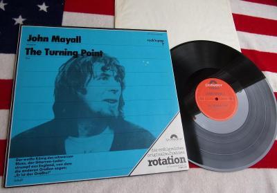 🔥 LP: JOHN MAYALL - THE TURNING POINT, jako nová MINT! Germany ℗1969