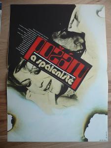 Požáry a spáleniště (filmový plakát, film ČSSR 1980