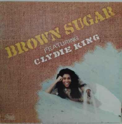 LP Brown Sugar Featuring Clydie King - Brown Sugar, 1973 EX