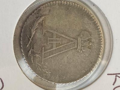 Rusko korunovační žeton Alexandr 1 1801 rok