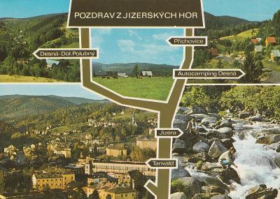 Desná - Příchovice - Tanvald - Jizera - Jizerské hory