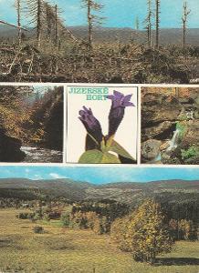 Jizerské hory - prales - Jizera - vodopády Štolpich