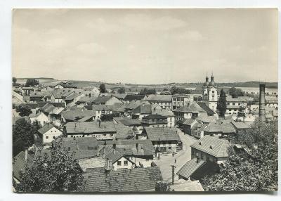 BYSTŘICE pod Pernštejnem, o. Žďár nad Sázavou - město, staré domy