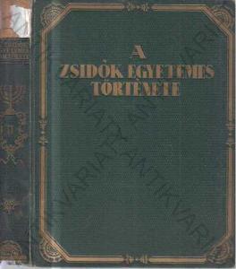 A Zsidók Egyetemes Története-Historie Židů K.Ármin